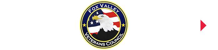 Fox Valley Veterans Council button