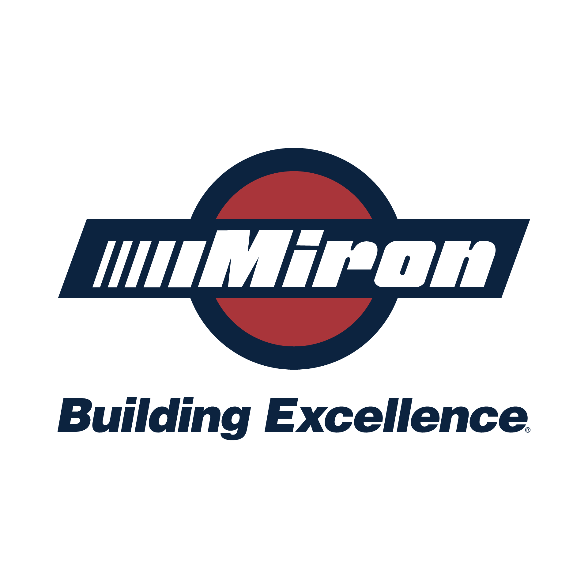 Miron Building Excellence Logo